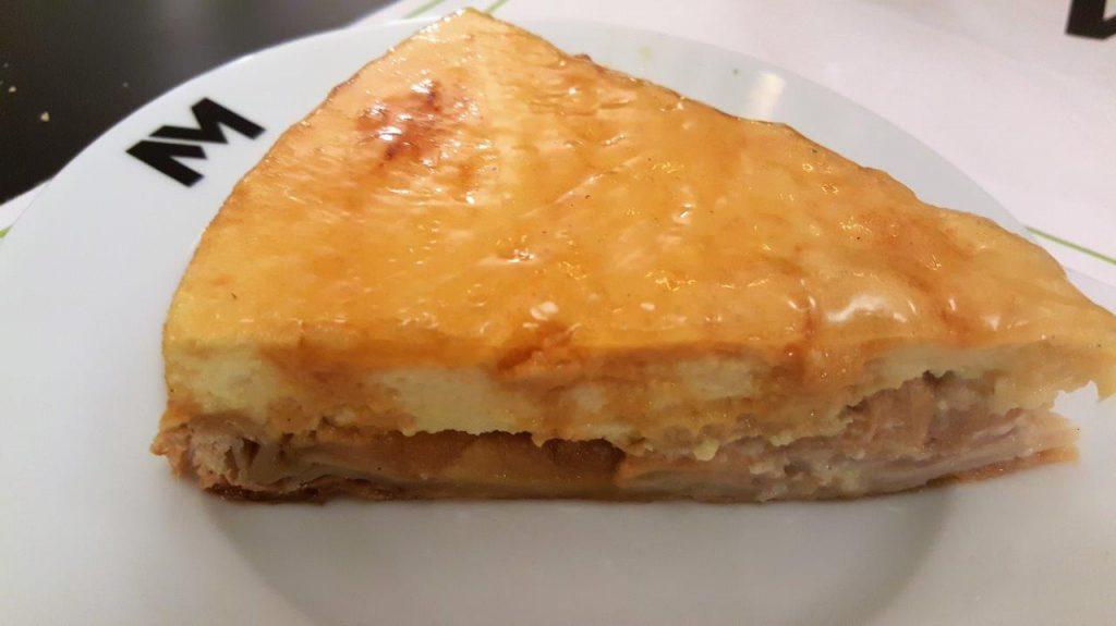 tarte chibouste au Calvados aux pommes