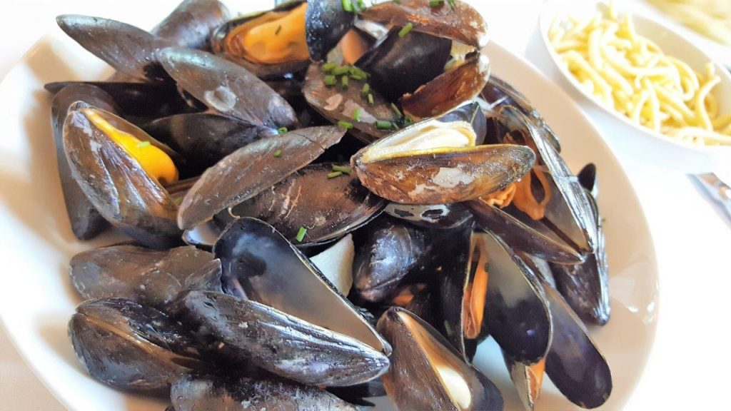 Moules, spatzle (menu enfant)