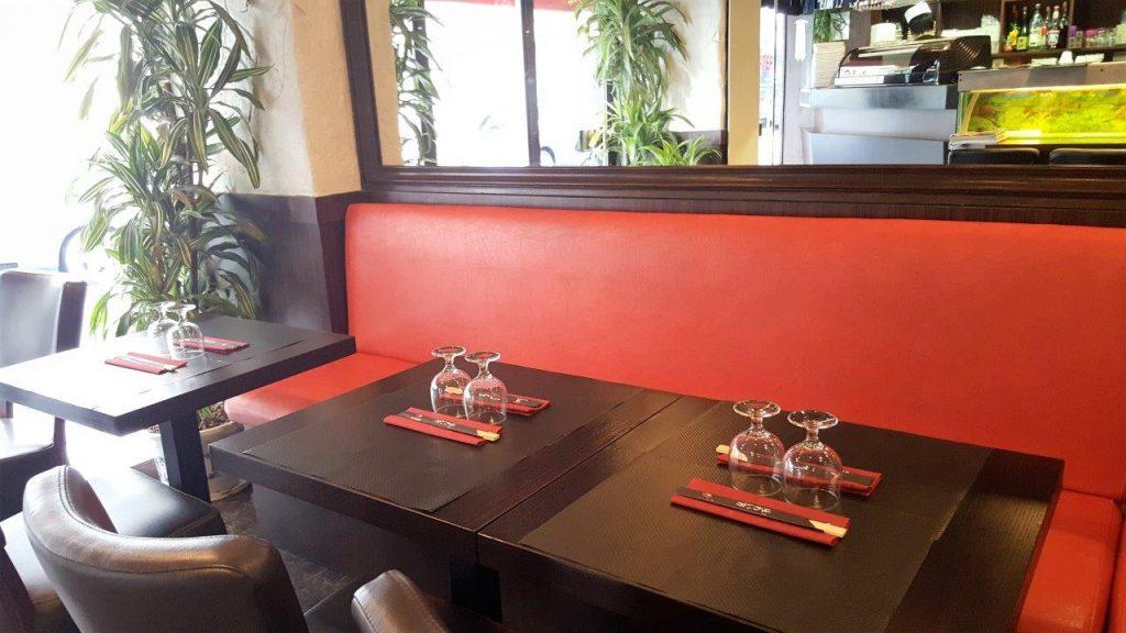 Intérieur du restaurant Koi