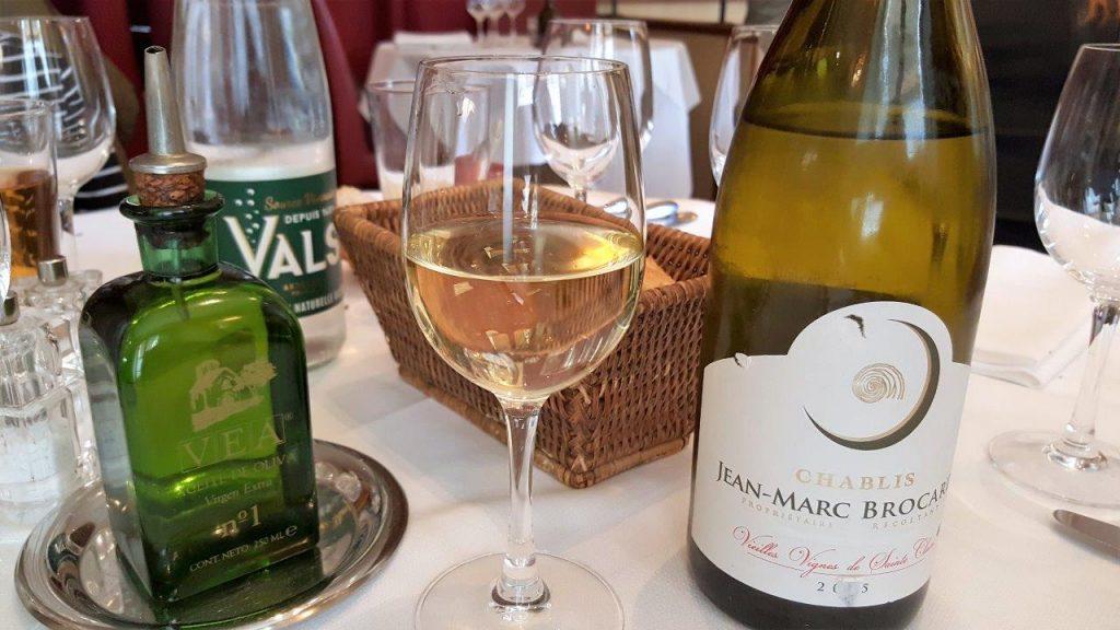 Chablis, les Vieilles Vignes de Sainte Claire, de Jean Marc Brocard