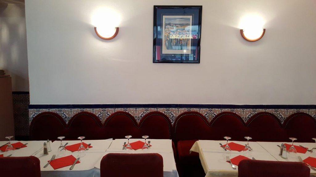 Intérieur du restaurant La Strada