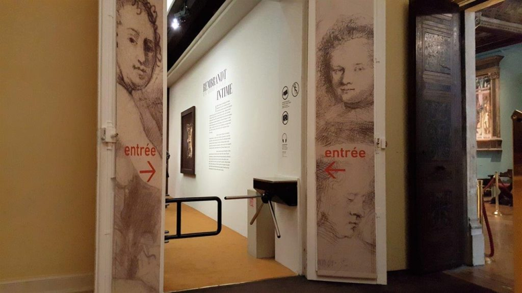 Exposition Rembrandt Intime