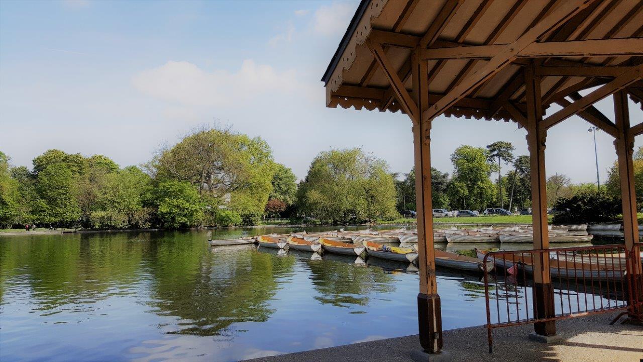 Randonn e paris d auteuil au bois de boulogne carnets de week ends - Lac des cygnes porte maillot ...