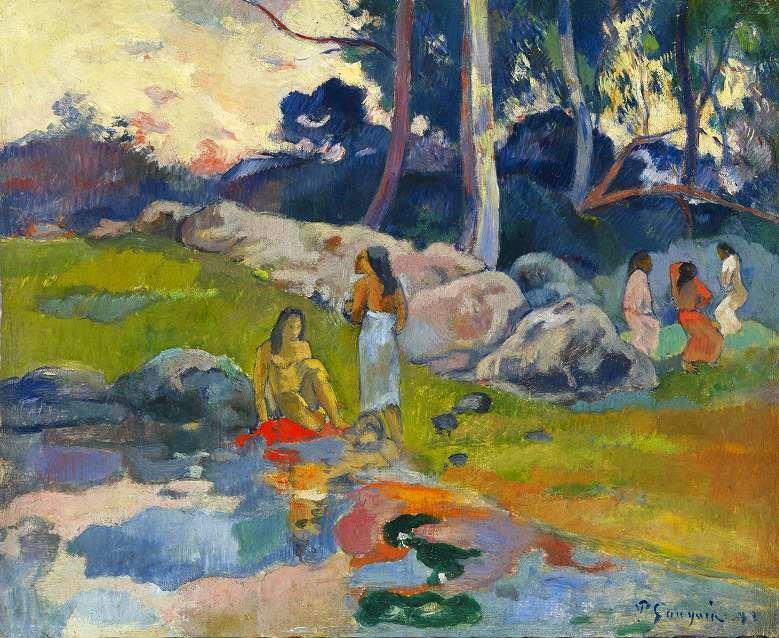 LETTRES INTIMES À MA LECTORATE - L'OUTRE-RÉEL IV //1 Paul-Gauguin-Femmes-au-bord-de-la-rivi%C3%A8re