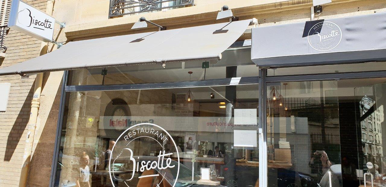 Restaurant Biscotte Paris Xv Carnets De Week Ends